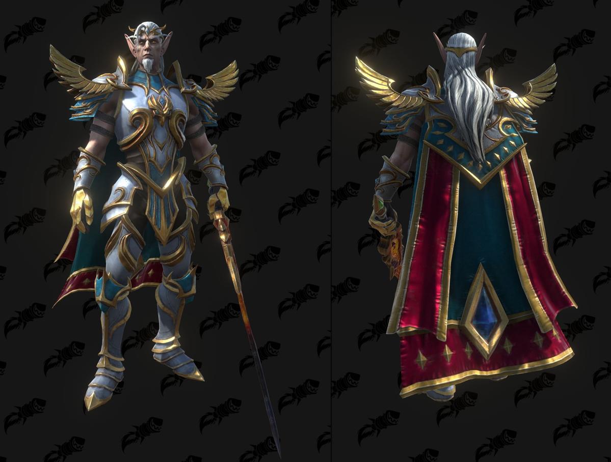 Modèle Warcraft III Reforged : Anasterian Sunstrider