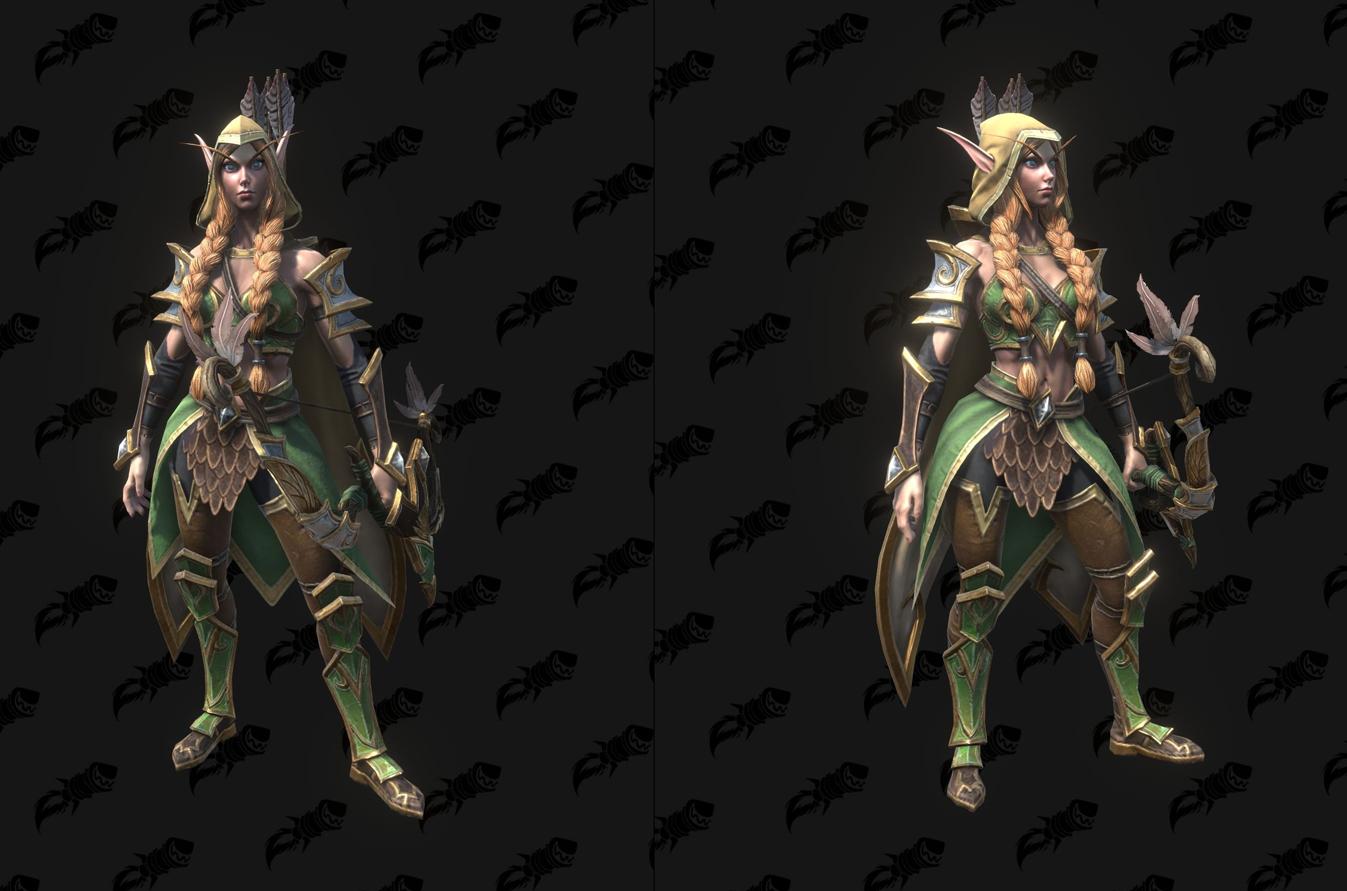 Modèle Warcraft III Reforged : Jennalla Deemspring