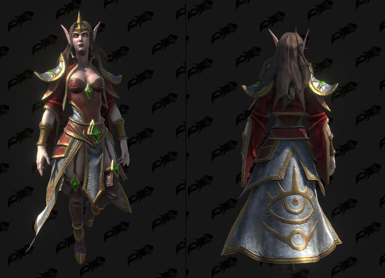 Modèle Warcraft III Reforged : Sorceress