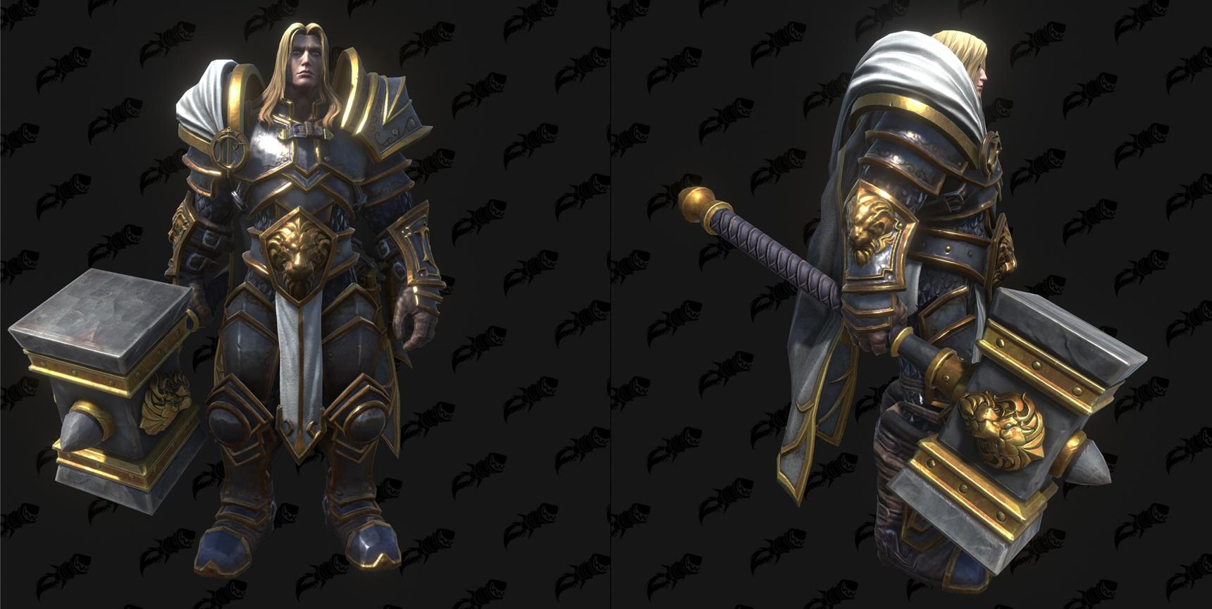 Modèle Warcraft III Reforged : Arthas