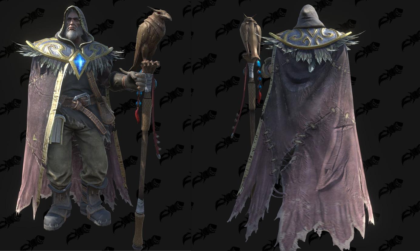 Modèle Warcraft III Reforged : Medivh