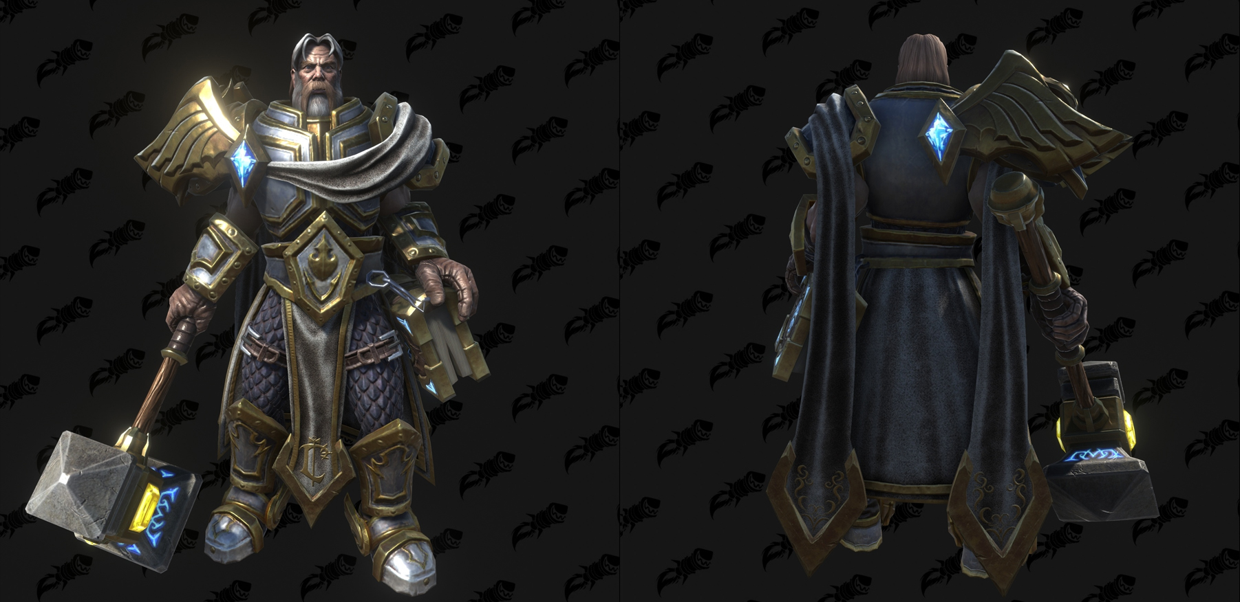 Modèle Warcraft III Reforged : Uther