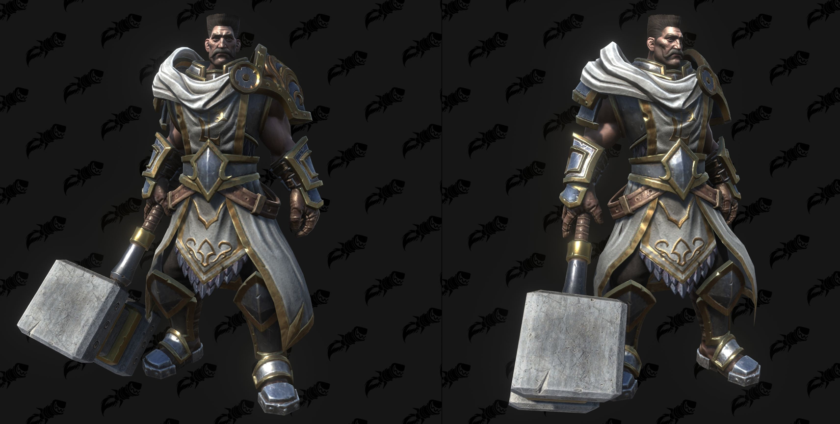 Modèle Warcraft III Reforged : Paladin Hero
