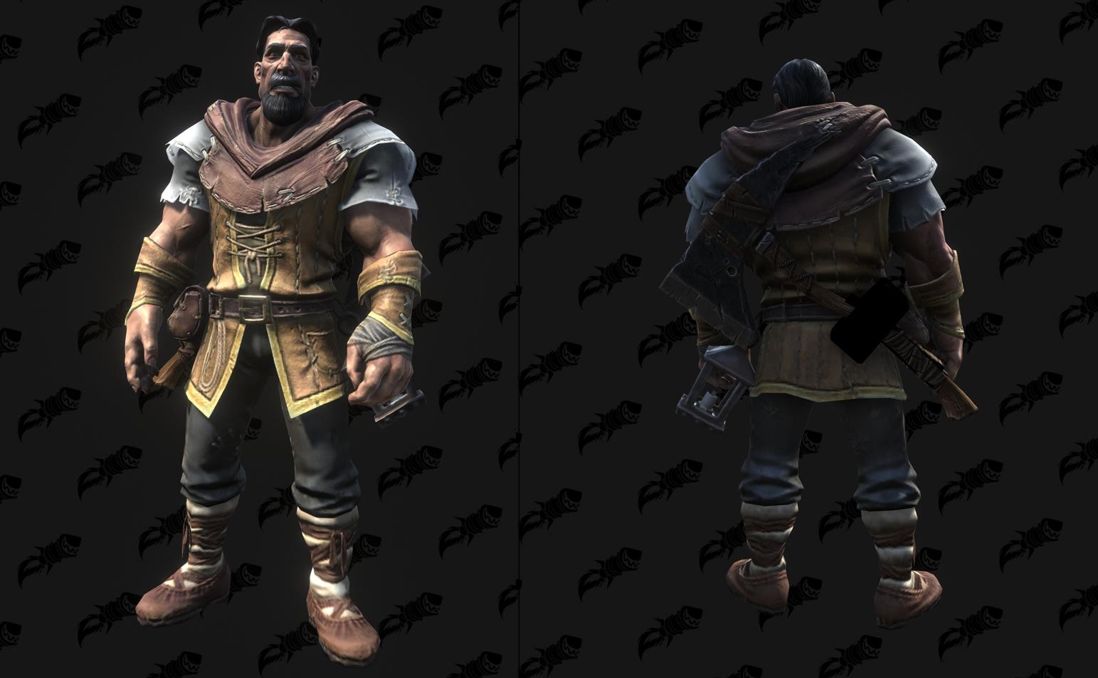 Modèle Warcraft III Reforged : Peasant