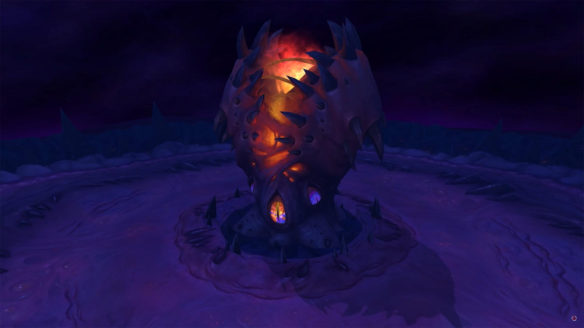 N'Zoth se trouve au coeur de Ny'alotha, dans les ténèbres