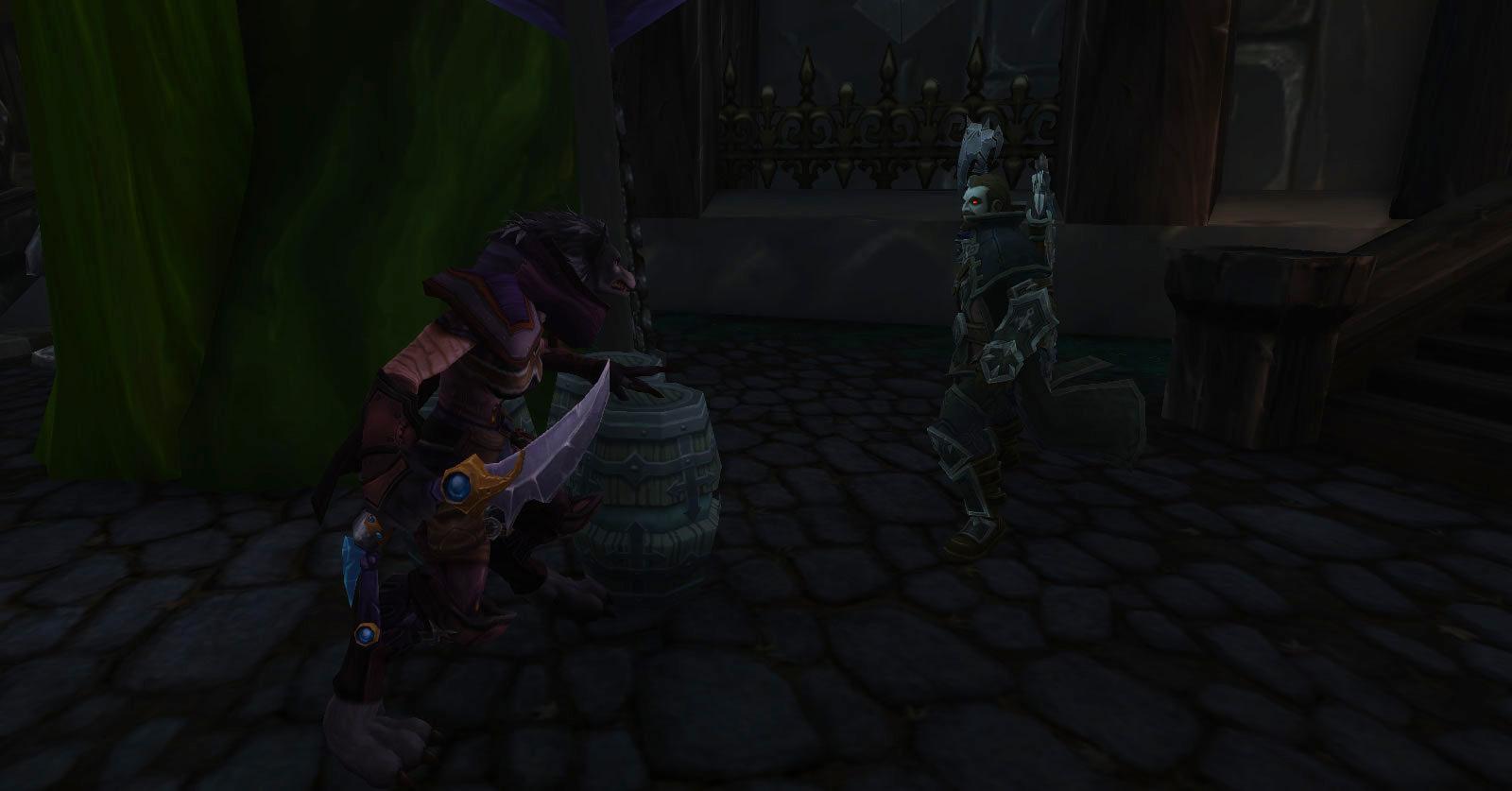 Tess affronte Nathanos