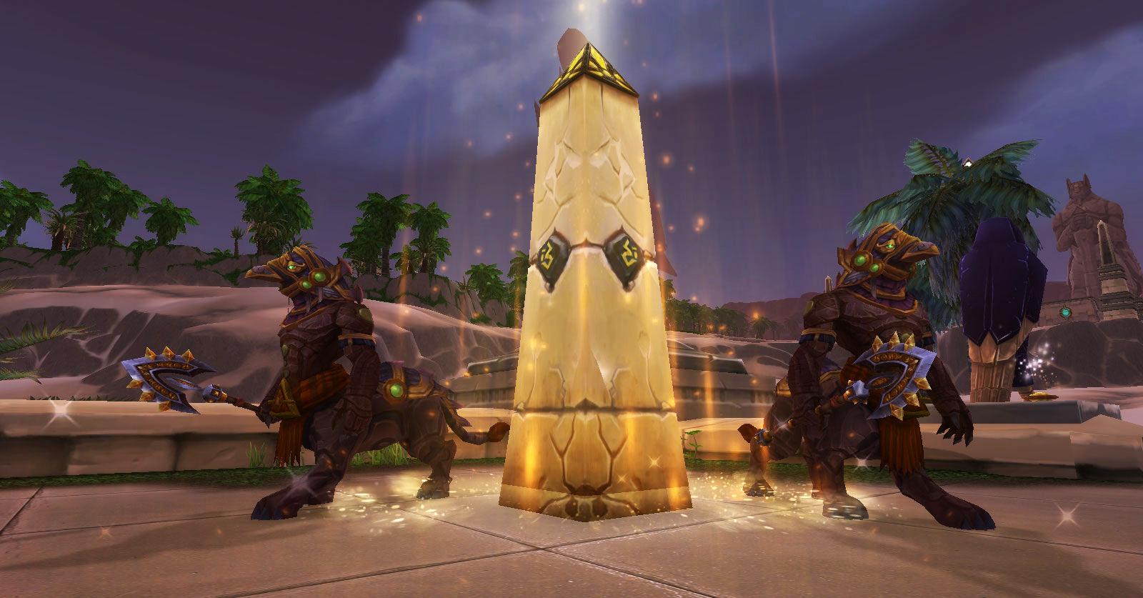 Protègez Uldum des assauts de N'Zoth et des armées d'Amathet