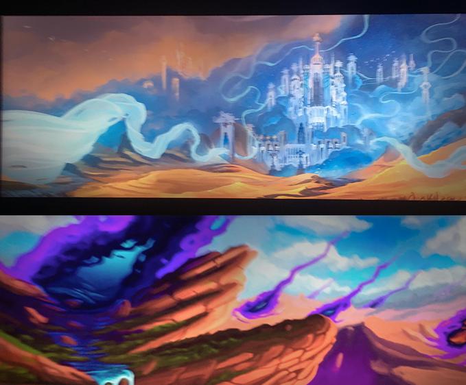 Artwork non officiel d'un prétendue publicité pour Shadowlands