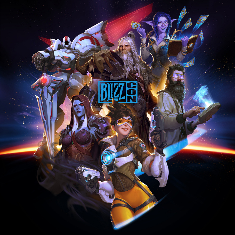 Affiche officielle Blizzcon 2019