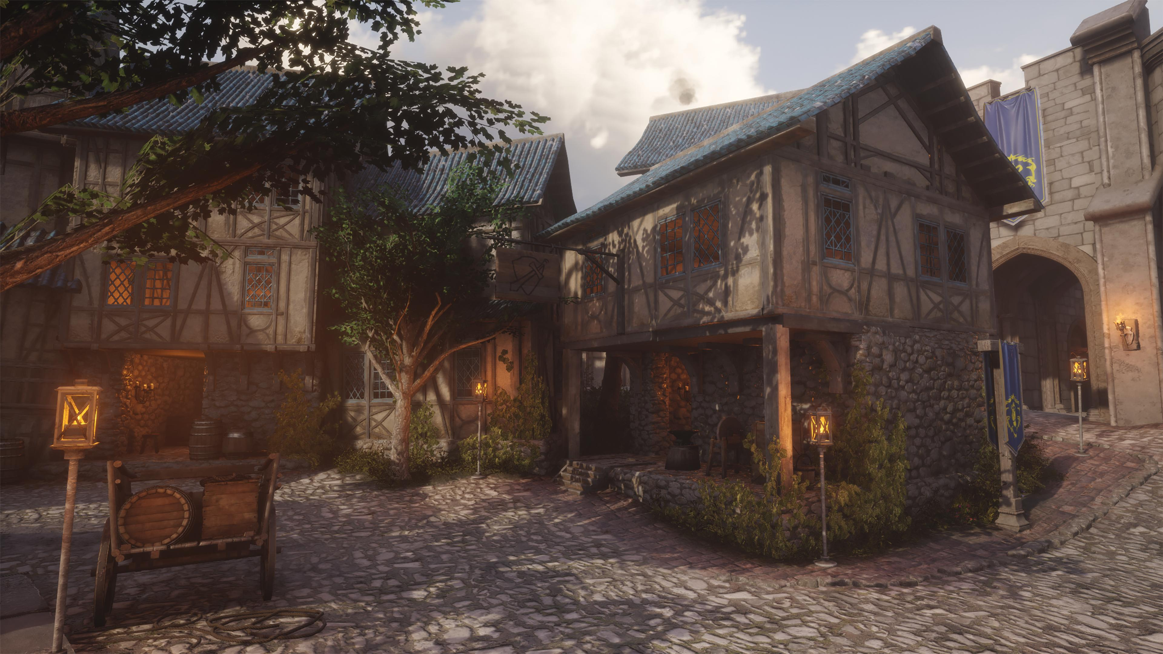 Hurlevent sous Unreal Engine 4