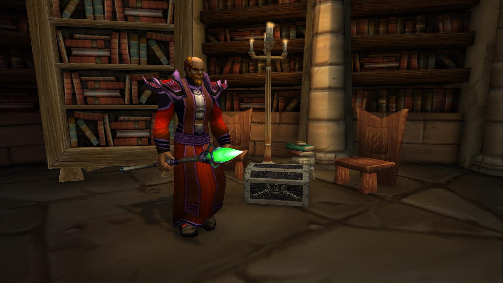 Le coffre de l'Arcaniste Doan se trouve au fond de la salle