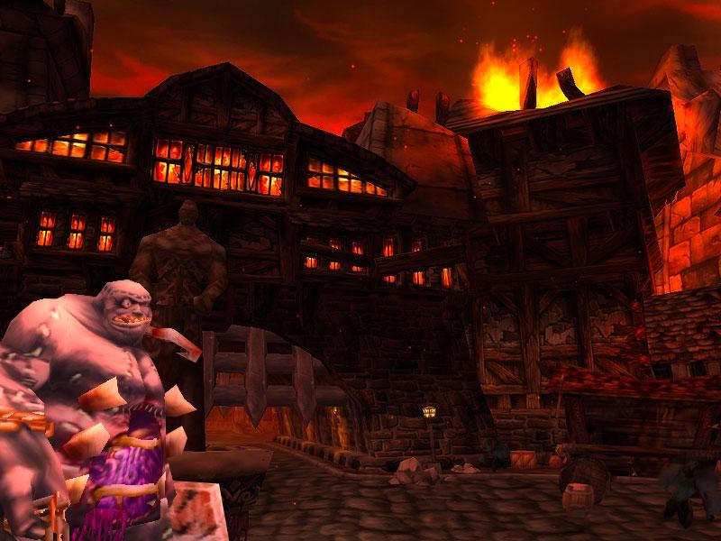 La clé de la ville permet d'entrer dans la partie mort-vivant de Stratholme