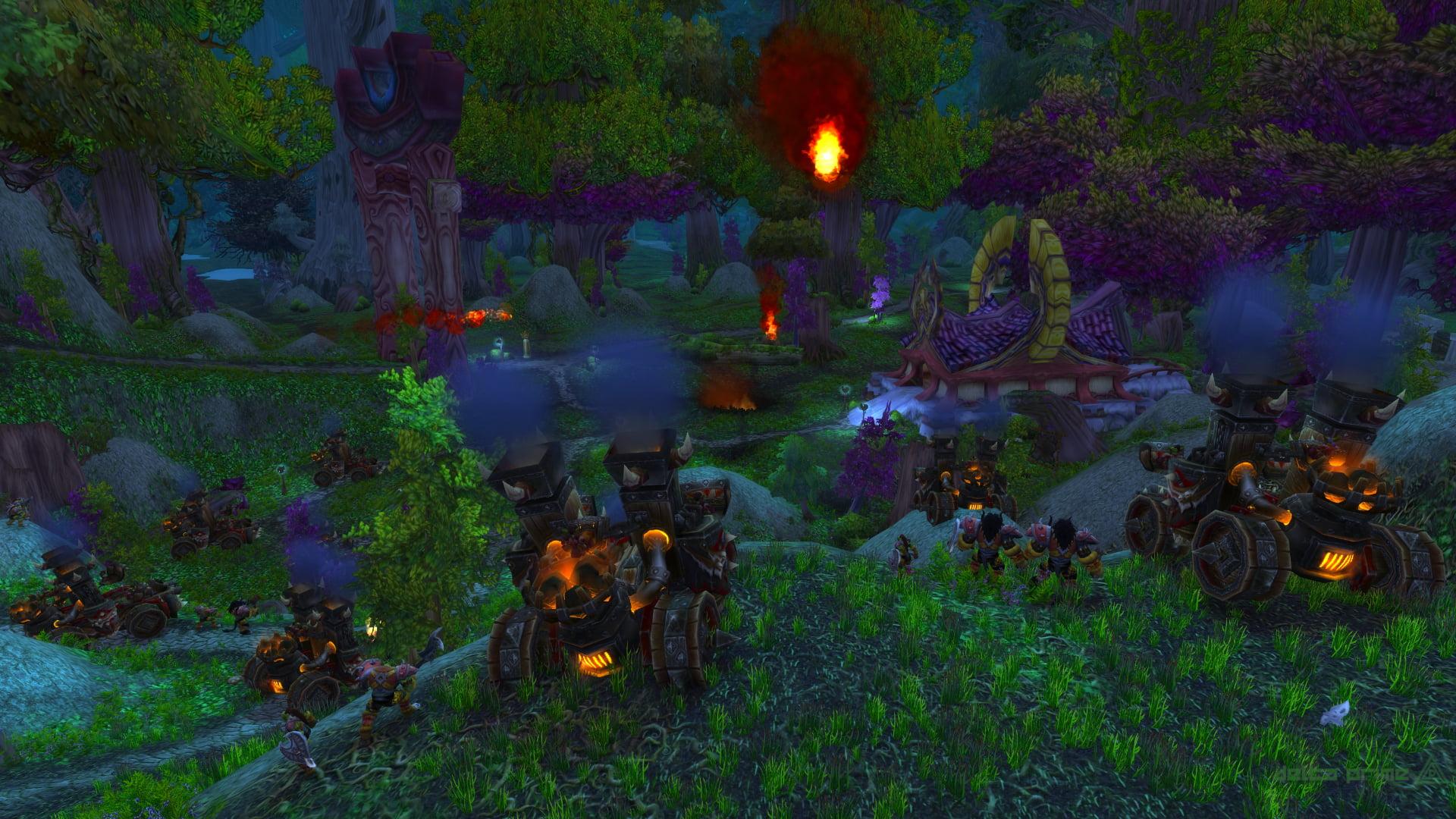 La Horde passe à l'attaque sur Astranaar