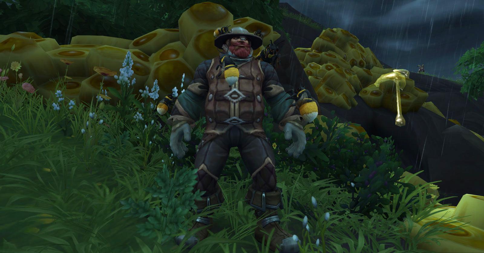 Intendant Bary l'apiculteur