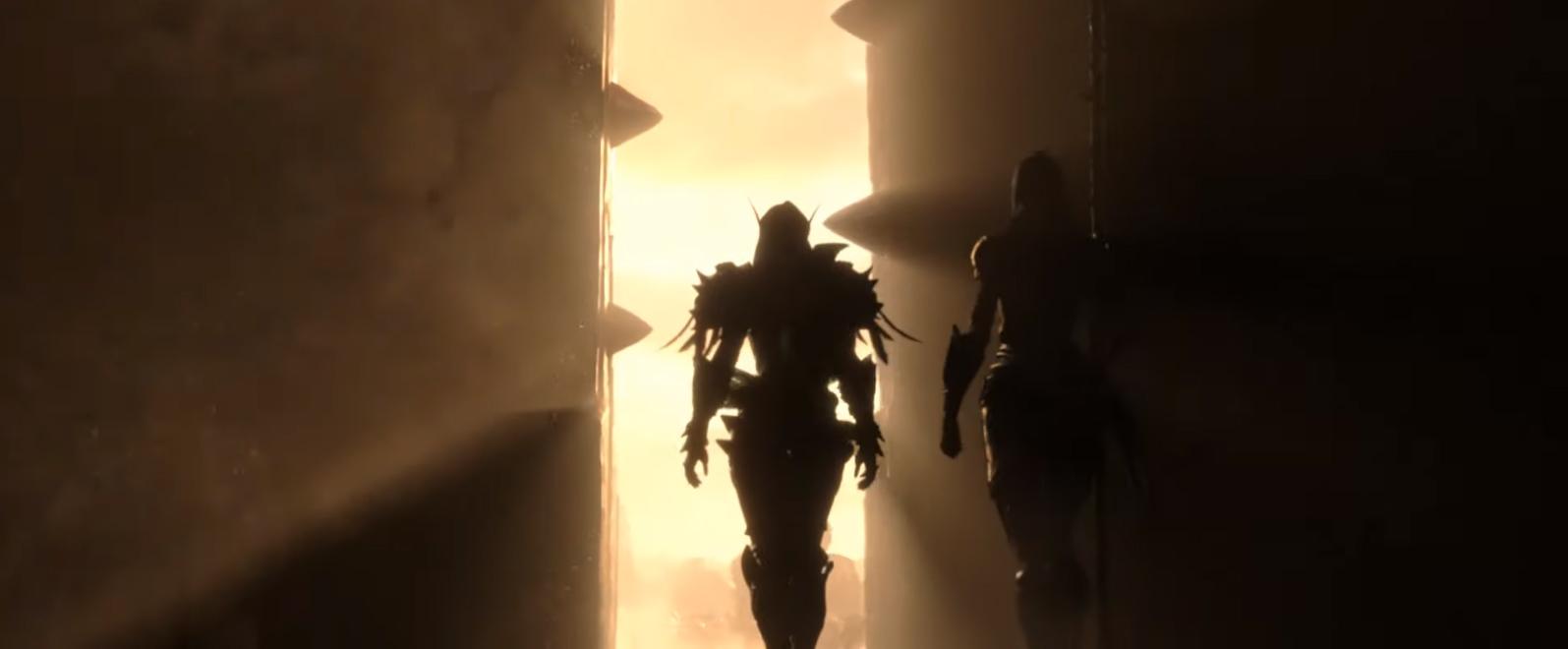 Sylvanas apparaît derrière les portes d'Orgrimmar