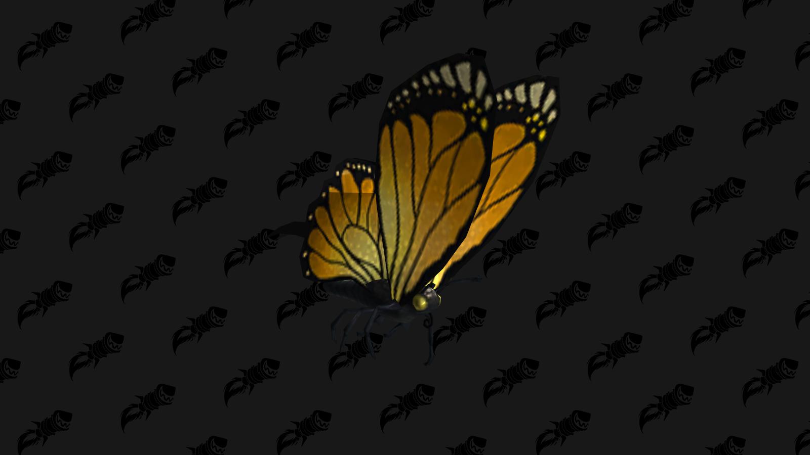 Papillonneur héliotrope, mascotte du patch 8.2.5