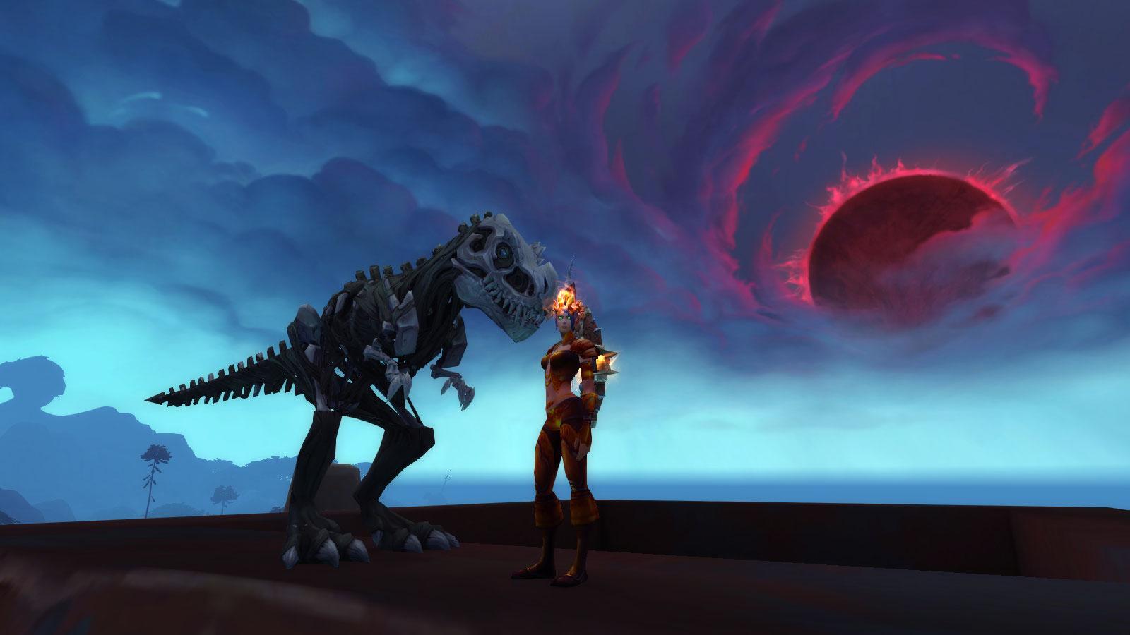 Shadowlands : Diablosaure mort-vivant domptable