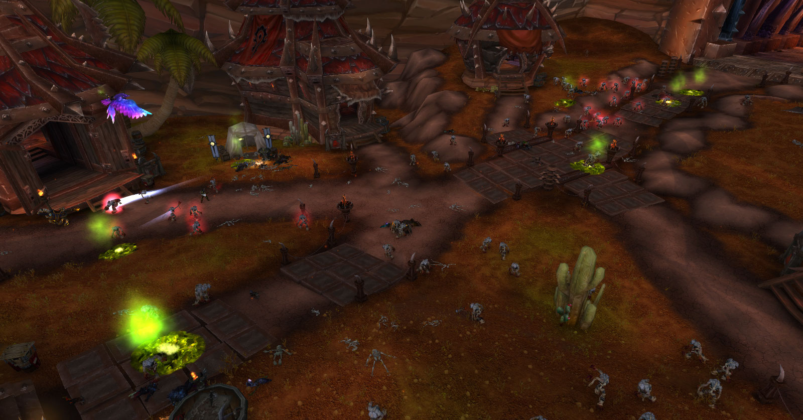 Patch 9.0 : Invasion du Fléau à Orgrimmar