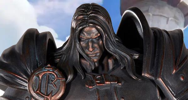 boutique : la statuette commemorative arthas disponible a la precommande