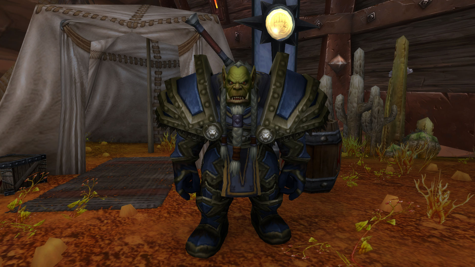 Patch 9.0 : Le commandant Throgg, de la Croisade d'argent, vous attend à Orgrimmar