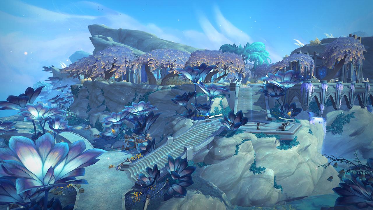 Le Bastion dans Shadowlands