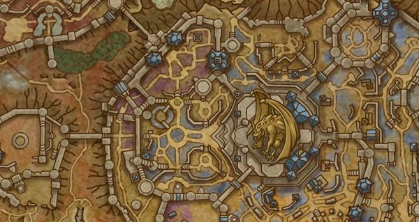 shadowlands alpha : apercu des premieres maps des zones