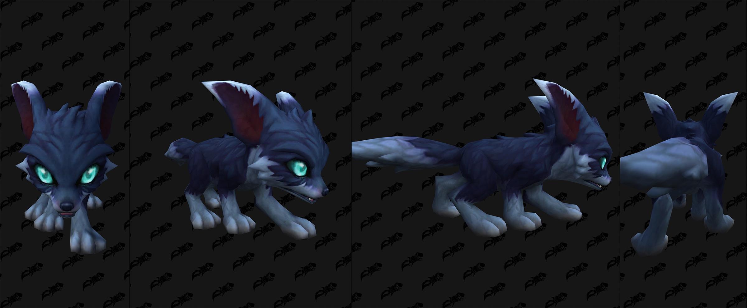 Modèle bébé renard dans Shadowlands