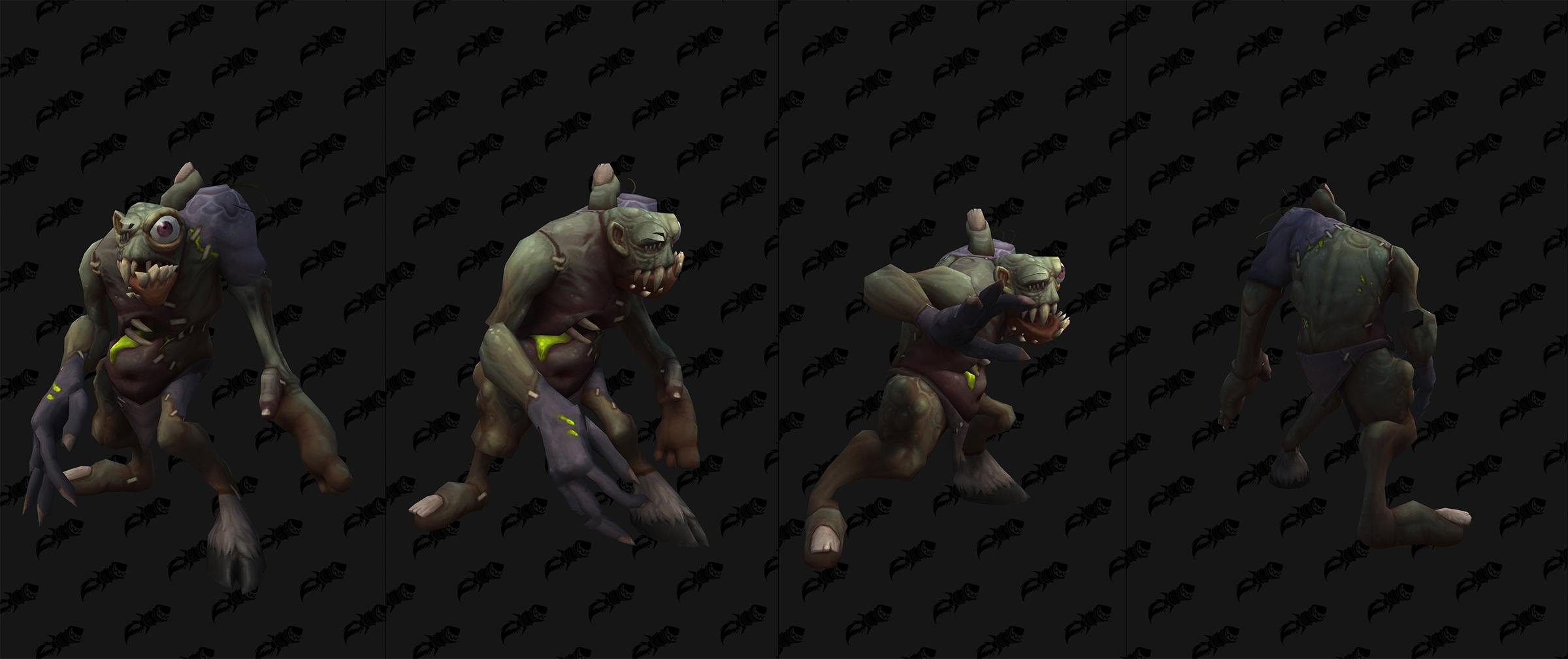 Modèle de créature dans Shadowlands