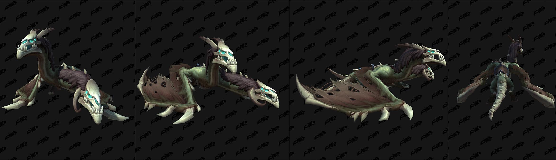 Modèle de monture du Maldraxxus (Shadowlands)