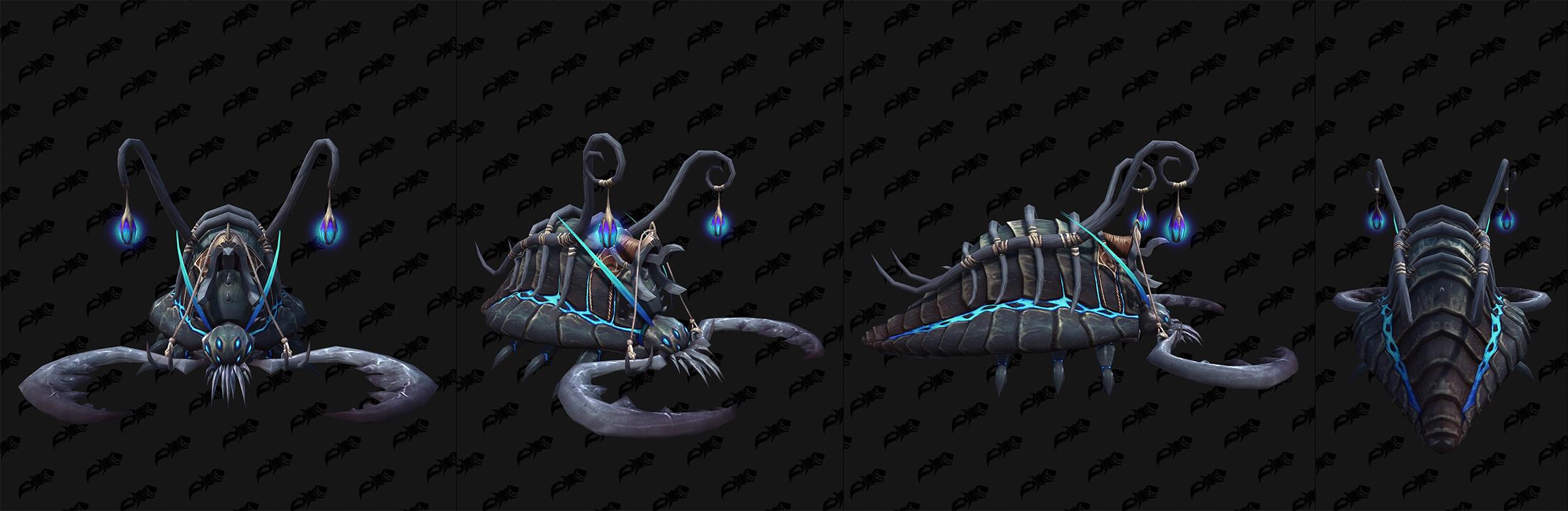 Modèle de monture de Shadowlands