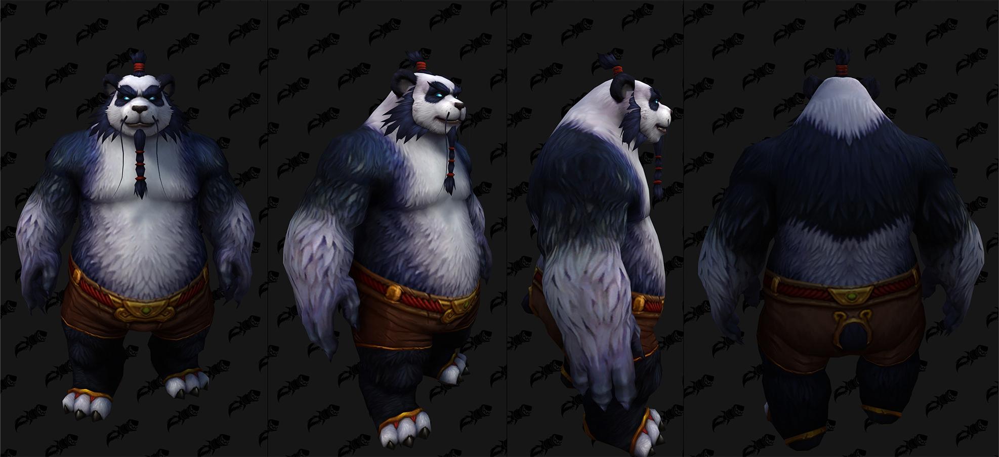 Nouvelle personnalisation Pandaren (H)