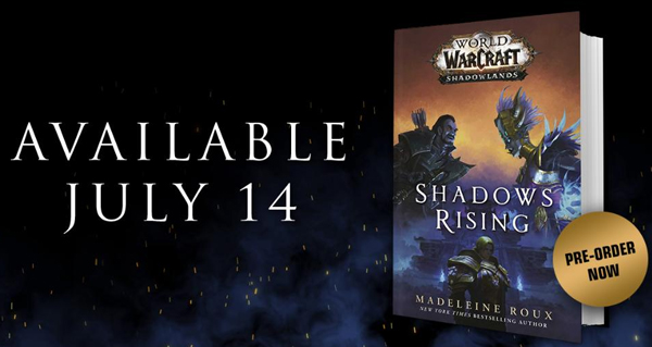 shadows rising : la couverture officielle du roman devoilee