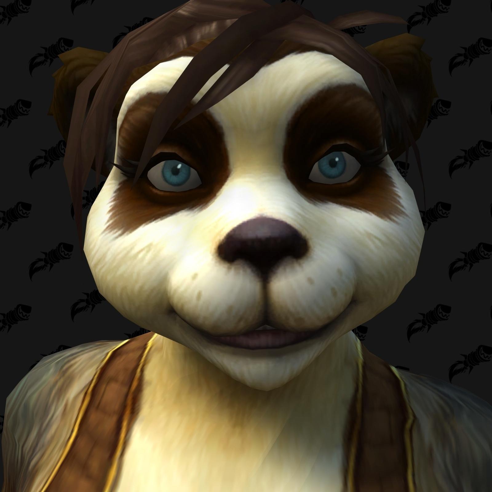Nouvelle personnalisation Pandaren (F)