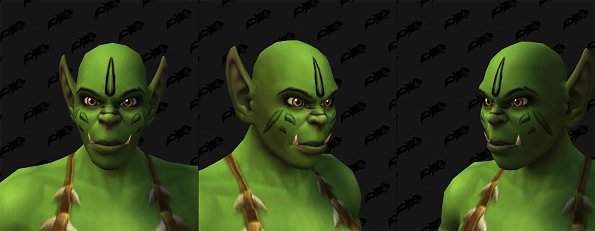 Nouvelle personnalisation Orc (F)