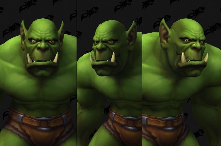 Nouvelle personnalisation Orc (H)