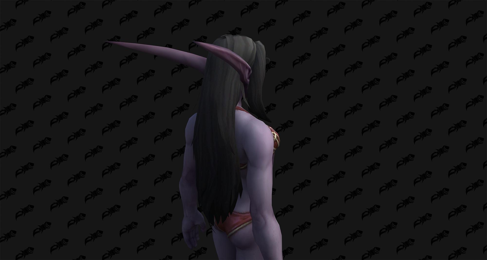 Personnalisation de l'Elfe de la nuit (F) à Shadowlands