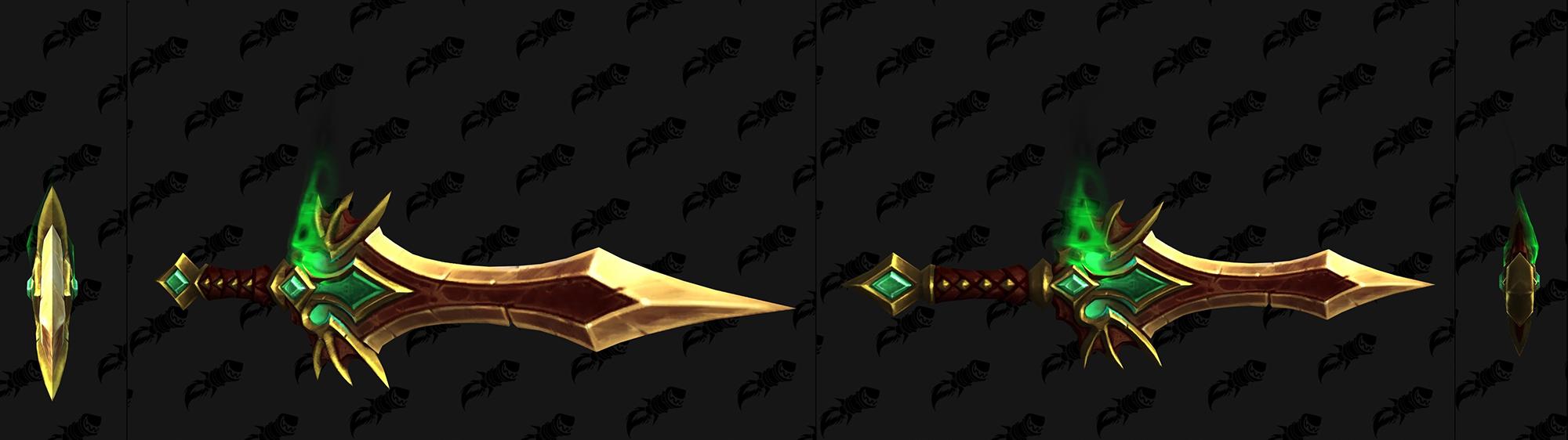 Modèle de dague de Revendreth