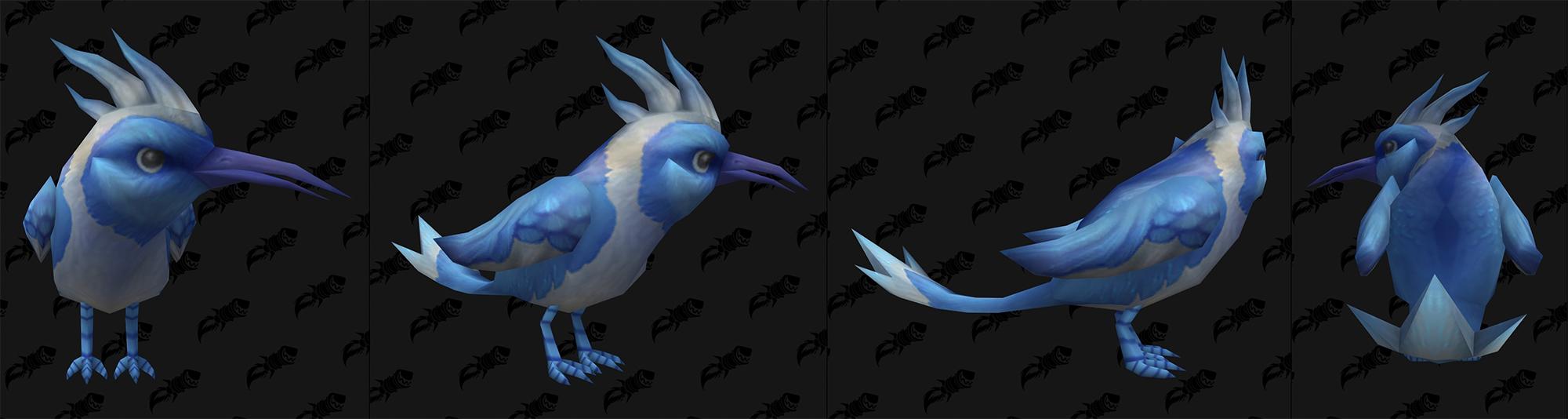 Nouveau modèle d'oiseau à Shadowlands