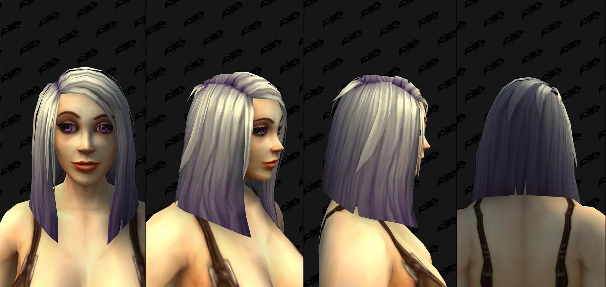 Nouvelles coiffures (F)