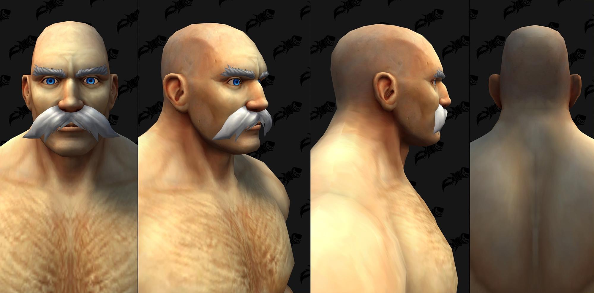 Nouvelles options faciales (H)