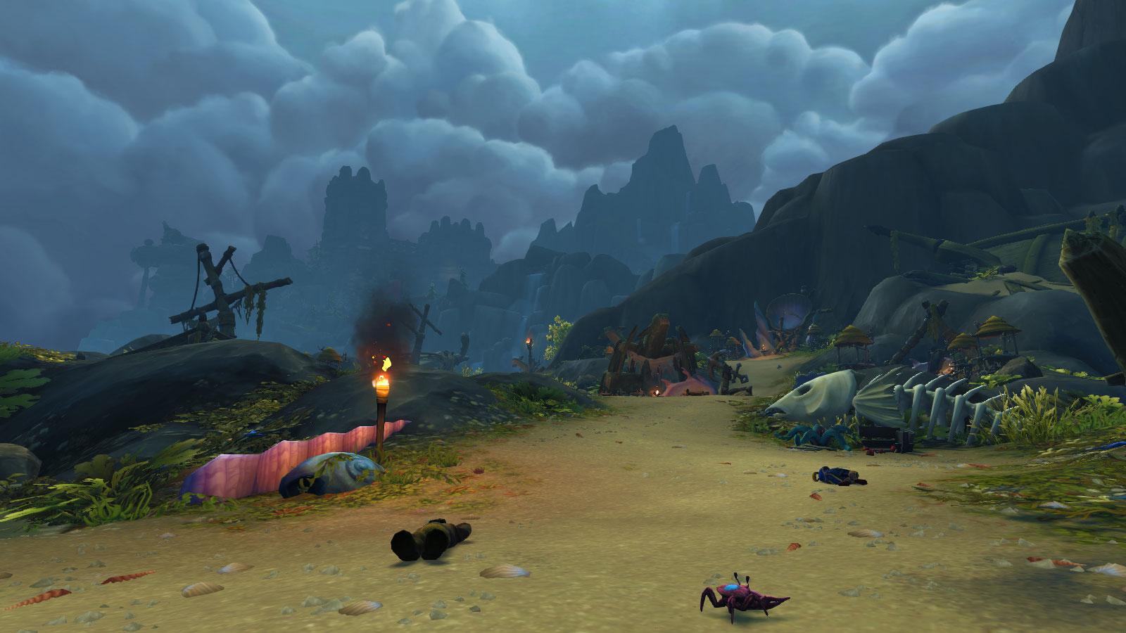 Votre aventure vous mène sur cette petite île pleine de mystère, les Confins de l'Exil