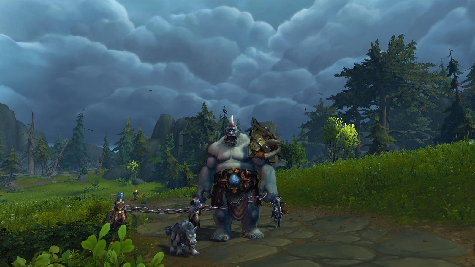 Prenez l'apparence d'un Ogre afin de vous rendre à la citadelle
