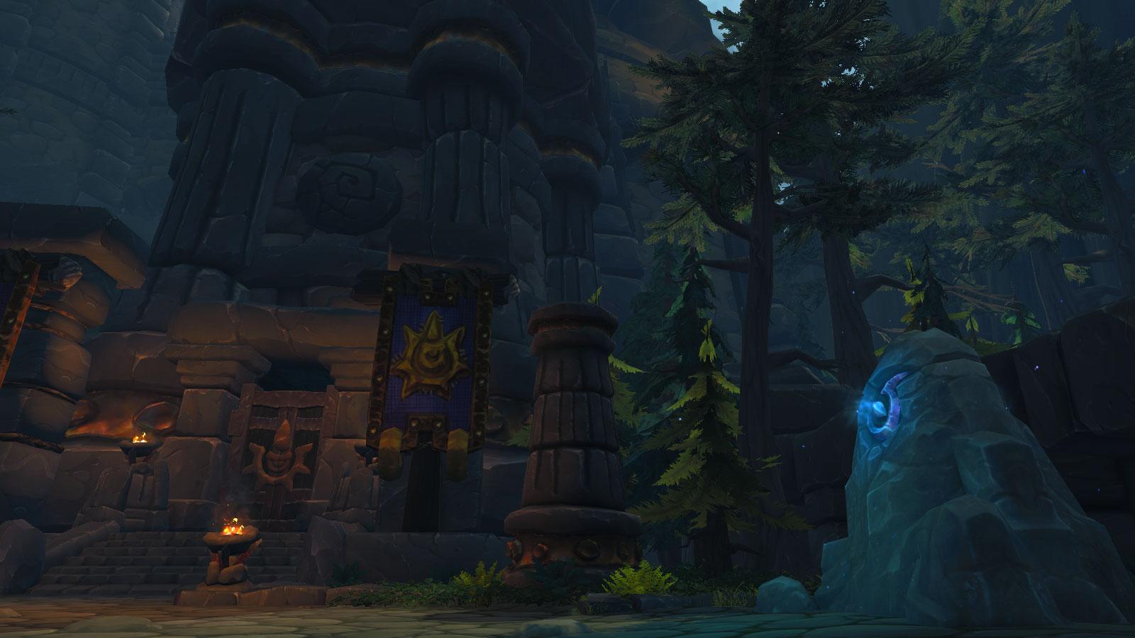 Vous devez entrer dans le donjon : la Citadelle Cognenuit