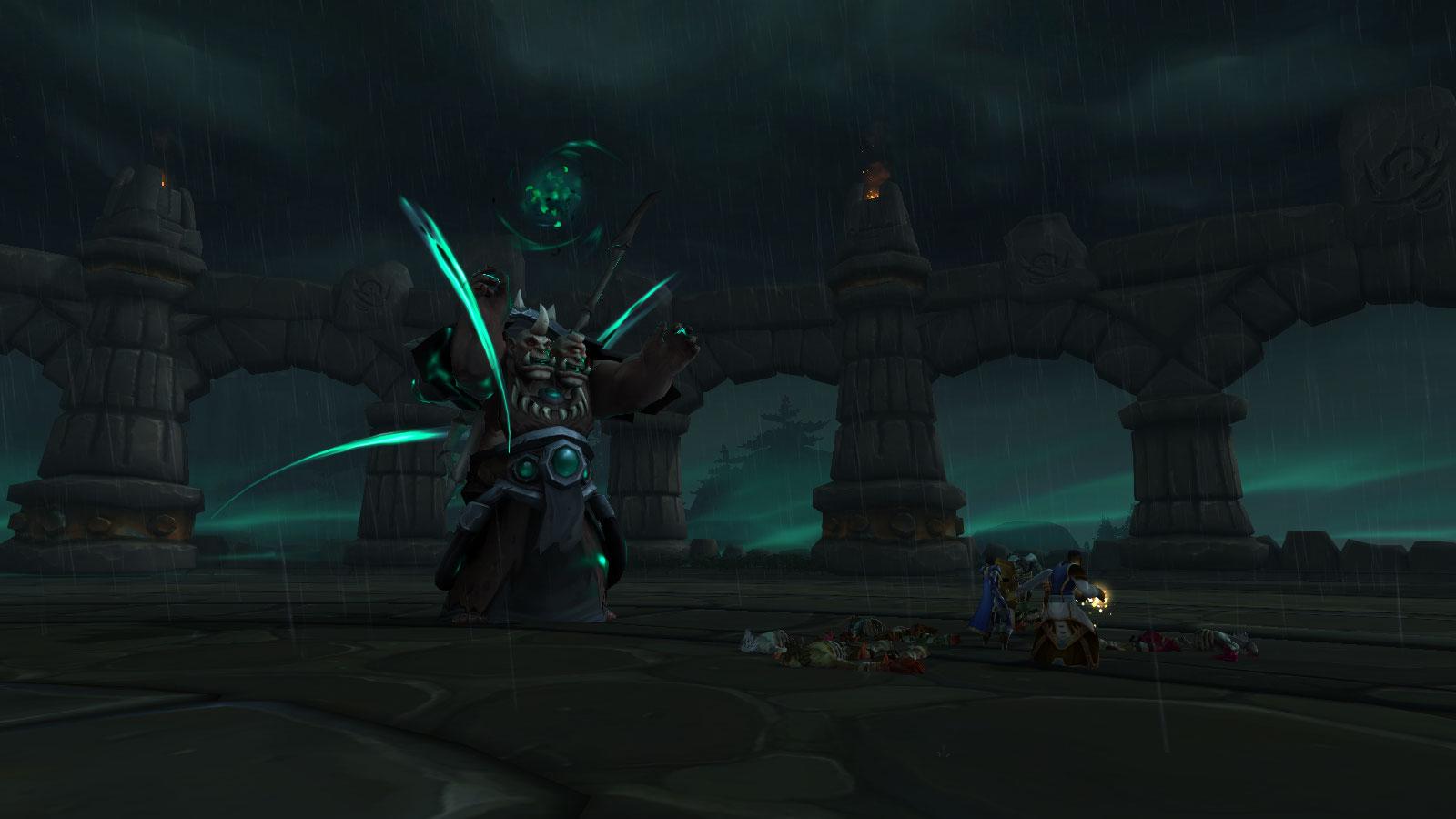 Rencontrez Gor'groth au sommet de la citadelle