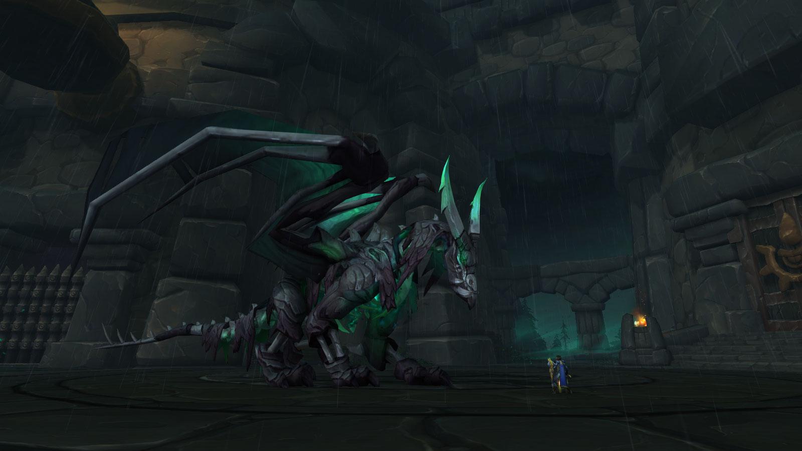 Le puissant dragon Ravnyr a été ressuscité