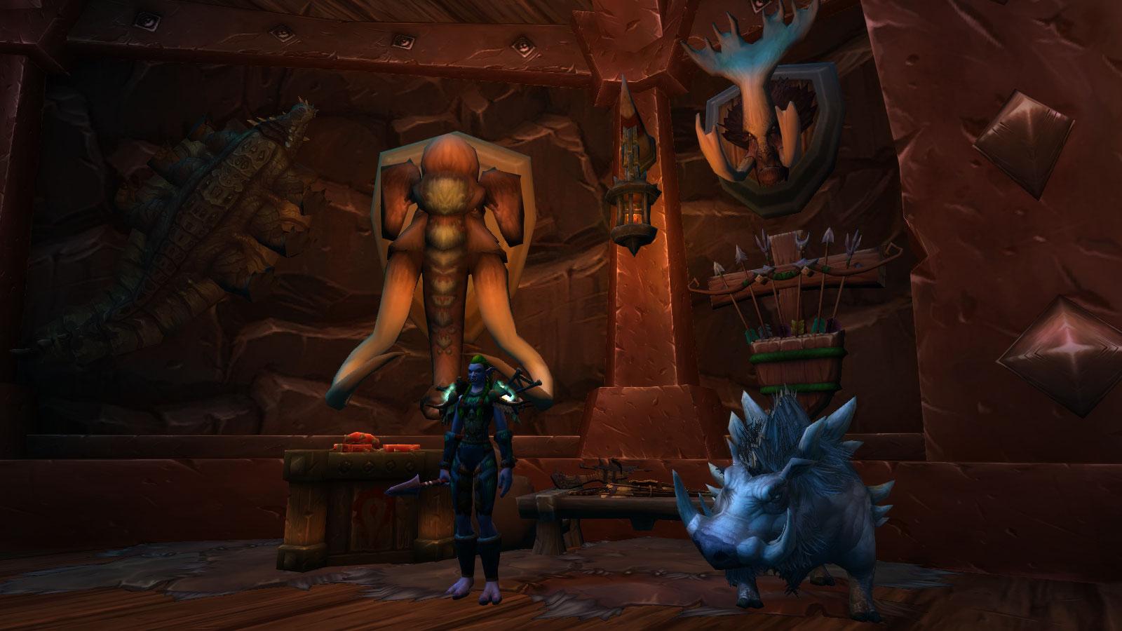 Shadowlands : Maître de classe des Chasseurs