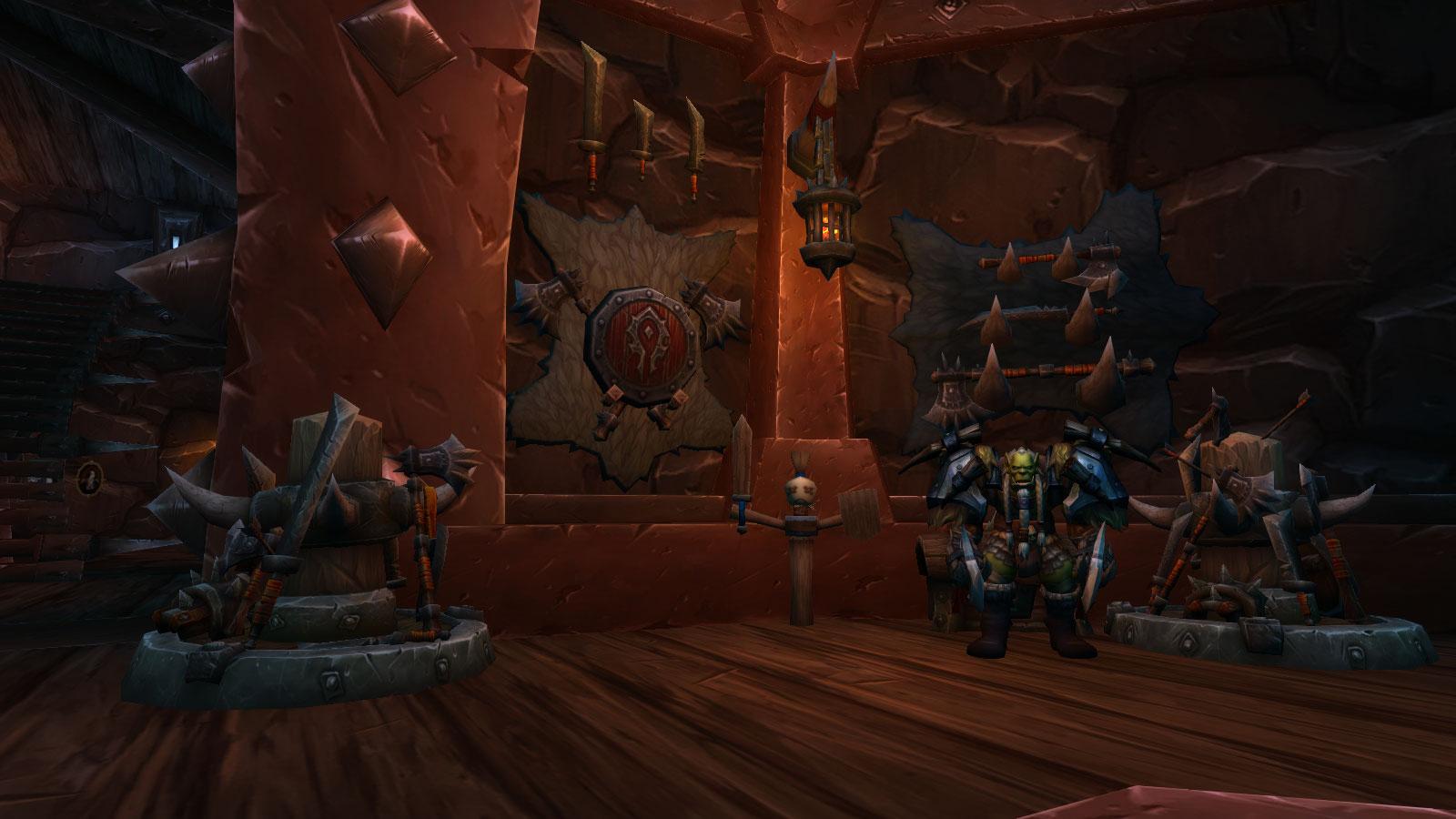 Shadowlands : Maître de classe des Guerriers