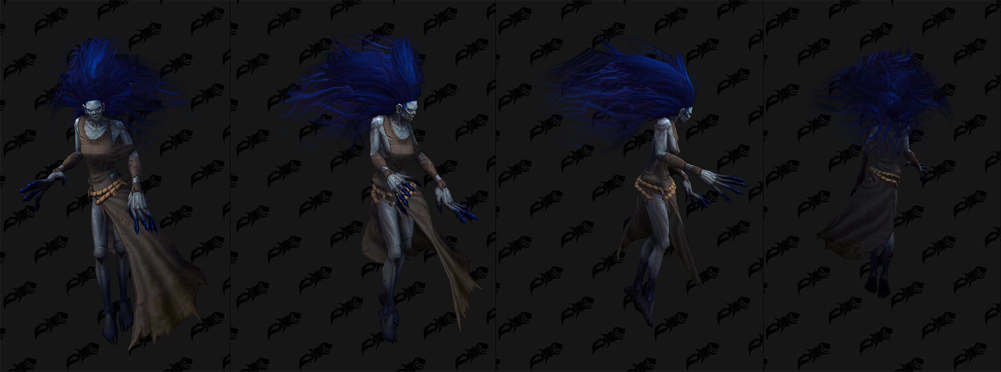 Shadowlands : modèle de créature