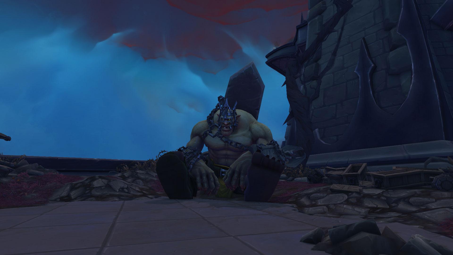 Nurgash Fangeformé, le world boss de Revendreth à Shadowlands