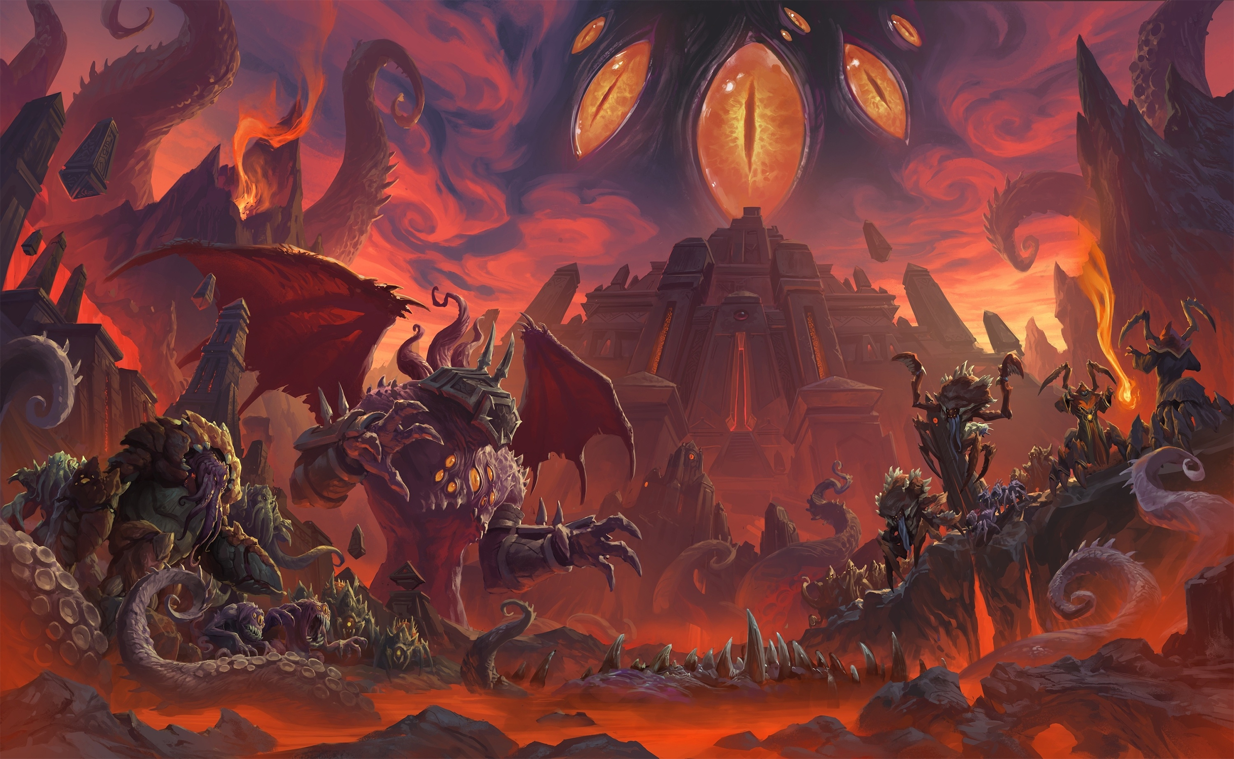 Ny'alotha, le raid du patch 8.3 de World of Warcraft